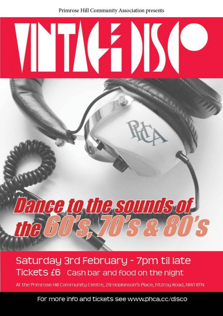 Vintage Disco music of 60s 70s & 80s! Primrose Hill - MagicVillage.London