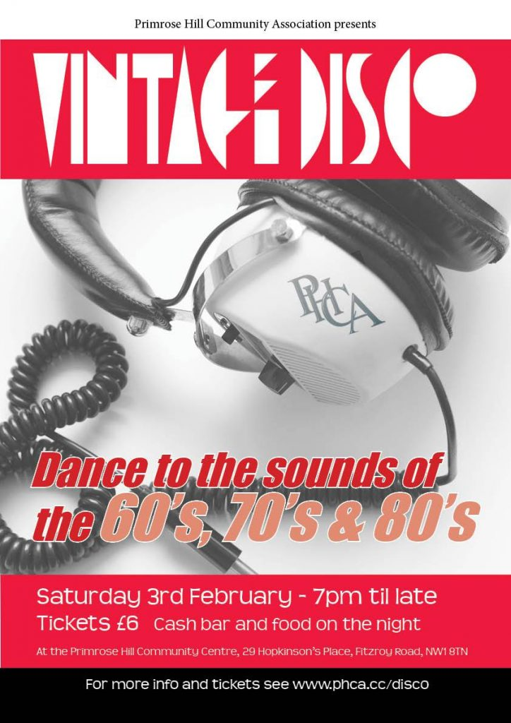 Vintage Disco music of 60s 70s & 80s! Primrose Hill - MagicVillage.London