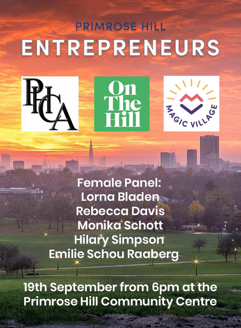 Primrose Hill Entrepreneurs Female Panel vertical