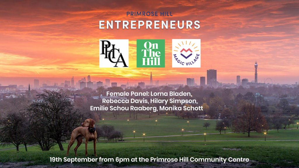 Primrose Hill Entrepreneurs Female Panel wide